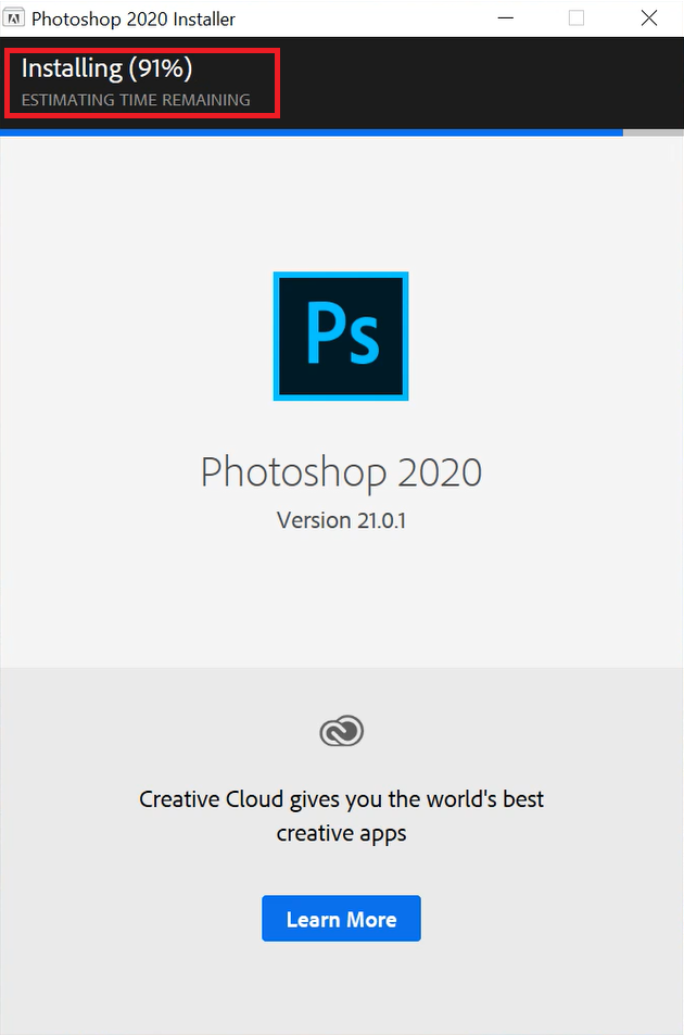 cài đặt photoshop cc 2020